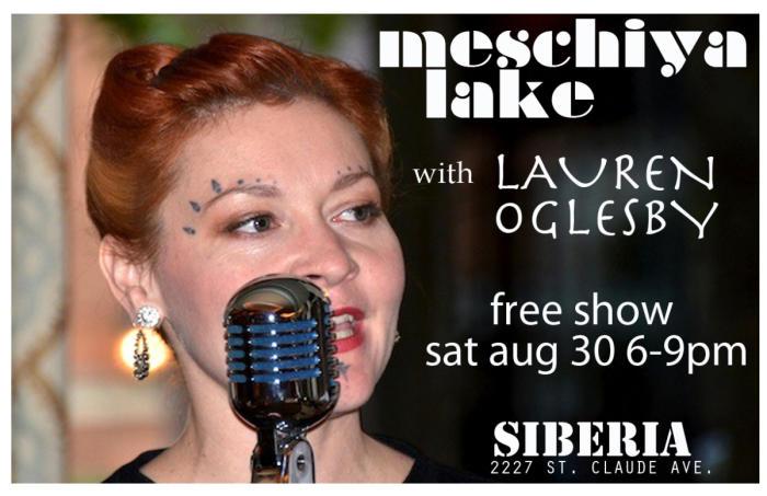 Meschiya Lake & Lauren Oglesby Happy Hour