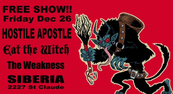 Hostile Apostle | Eat The Witch | The Weakness