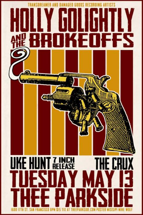"Holly Golightly and the Brokeoffs, Uke-Hunt (7"" Release), The Crux"