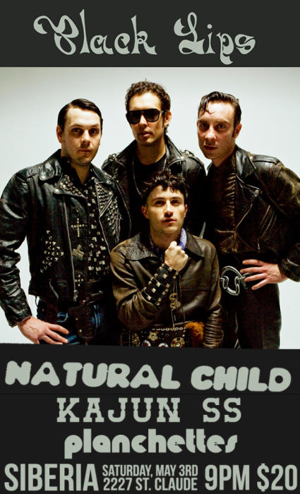 BLACK LIPS | Natural Child | Kajun SS | Planchettes