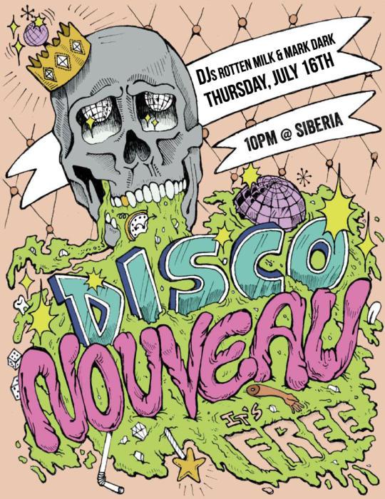 DISCO NOUVEAU: DJs Rotten Milk and Mark Dark!!
