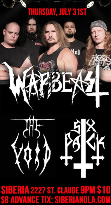 WARBEAST | The Void | Six Pack