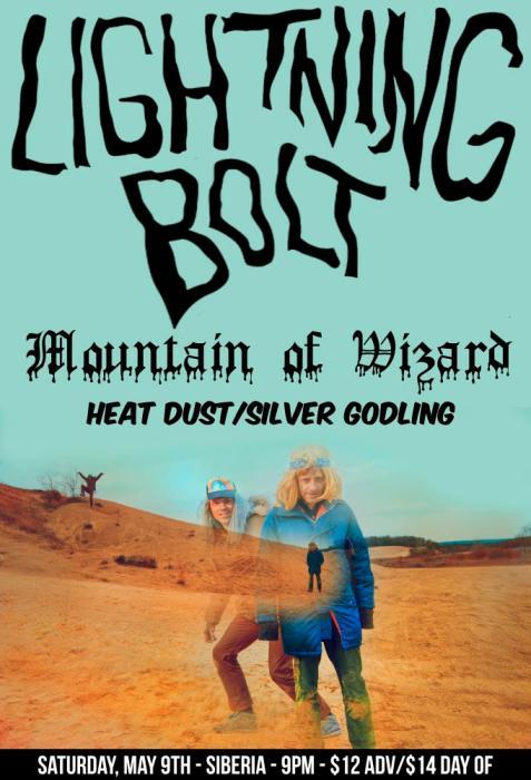 LIGHTNING BOLT | Mountain of Wizard | Heat Dust w/ Silver Godling