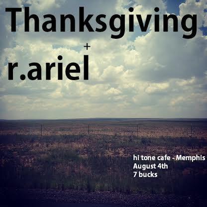 Thanksgiving w/ r.ariel
