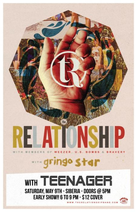 THE RELATIONSHIP (ft. Brian Bell of Weezer) | Gringo Star | Teenager - EARLY SHOW!!