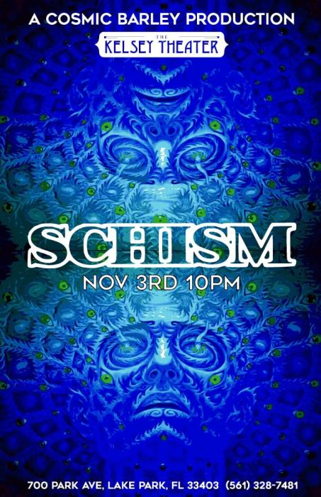 SCHISM   The Music of Tool @ The Kelsey Theater Lake Park, FL - November  3rd 2018 11:00 pm