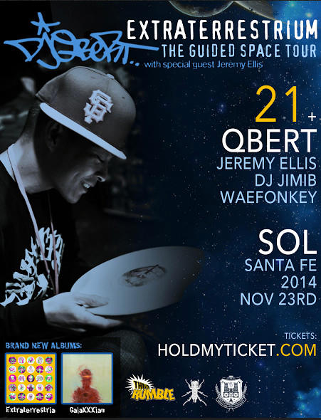 DJ QBERT WITH SPECIAL GUEST JEREMY ELLIS