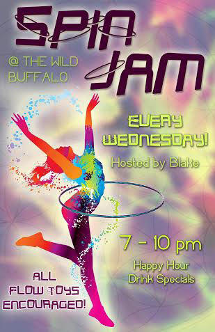 Spin Jam Happy Hour