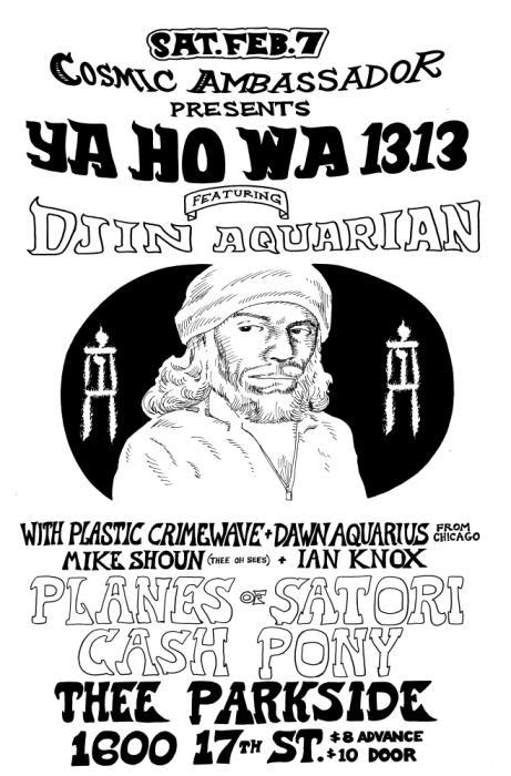 Ya Ho Wa 1313, Planes of Satori, Cash Pony
