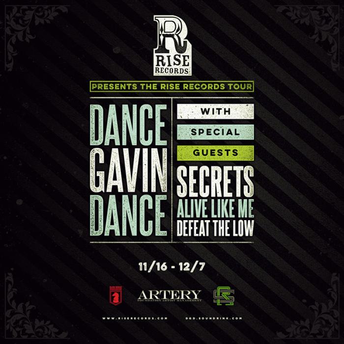 DANCE GAVIN DANCE,