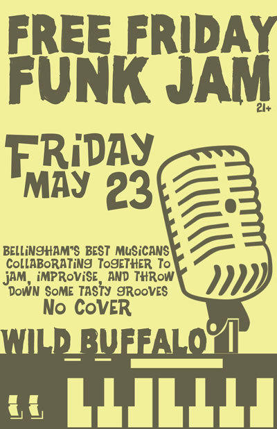 Free Friday Funk Jam, Boombox Kid