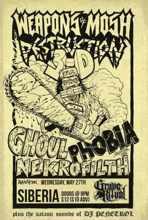 GHOUL | PHOBIA | Nekrofilth | Grave Ritual | DJ Penetrol