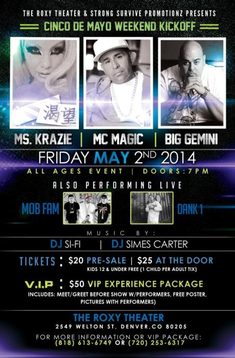 Mc Magic & Ms Krazie Live