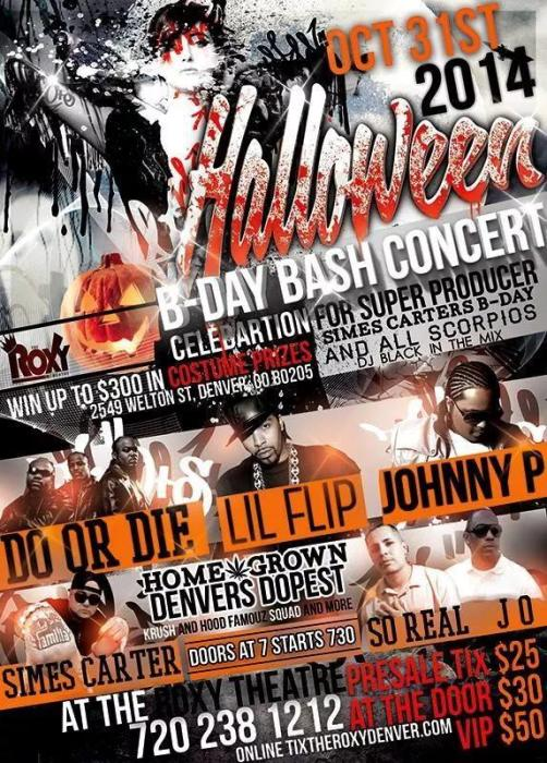 Halloween Haunted B-Day Bash