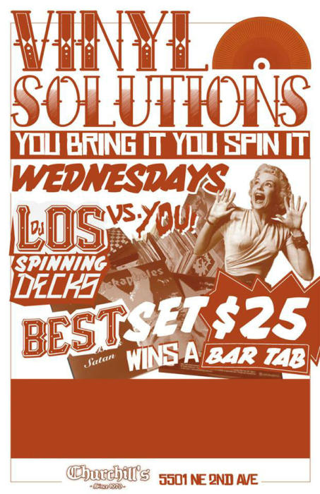 """Vinyl Solutions"" You Bring It - You Spin It... with special musical guests ""Vice City Rockers"""