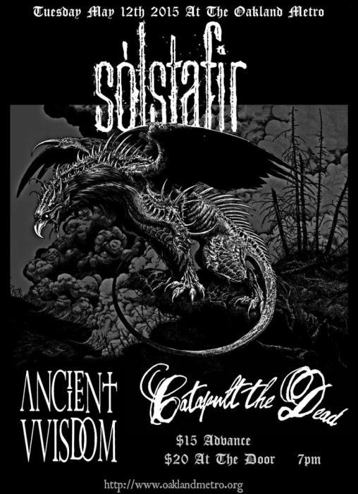 Solstafir - Ancient VVisdom - Catapult the Dead