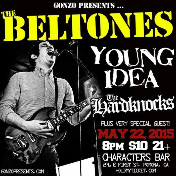 PRB kick off #2 The BELTONES, The Young Idea