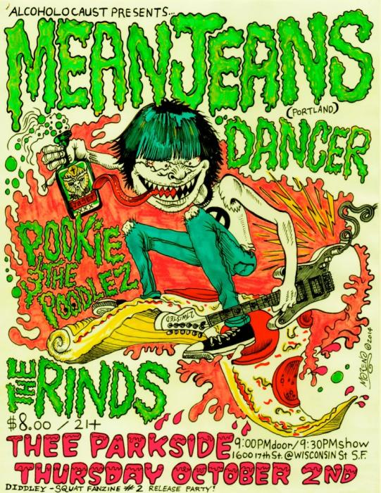 Mean Jeans, Dancer, Pookie and the Poodlez, The Rinds