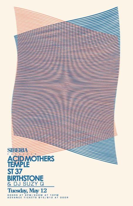 ACID MOTHERS TEMPLE | ST 37 | Birthstone | DJ Suzy Q