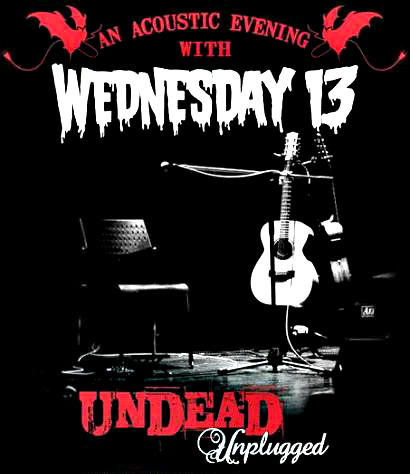 An Acoustic Evening with WEDNESDAY 13