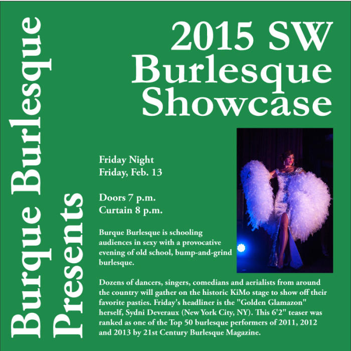 Ninth Annual Southwest Burlesque Showcase