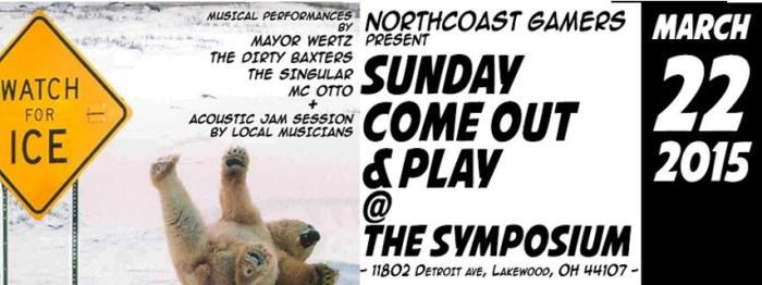 Northcoast Gamers , The Phantasy Concert Club, and Ultimate Teamup Present:  Come Out and Play: