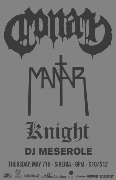 CONAN | Mantar | Knight | DJ Meserole
