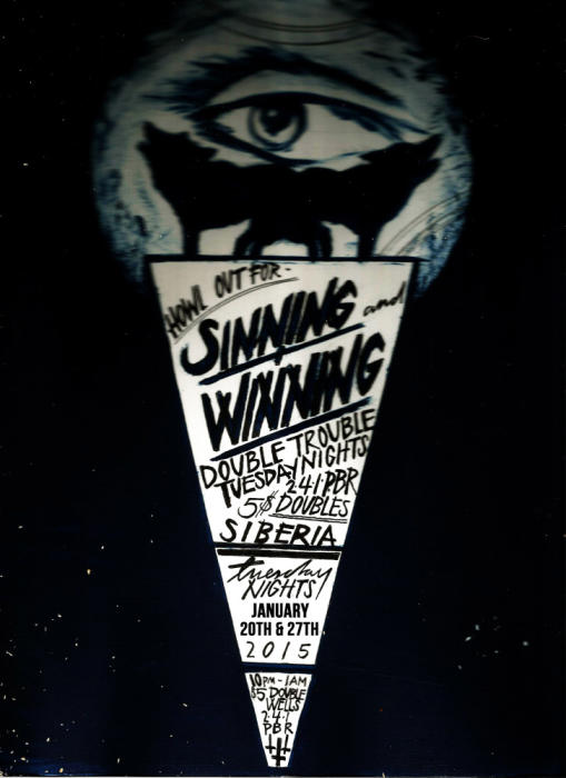 Sinning and Winning - Bar Night with Sonja