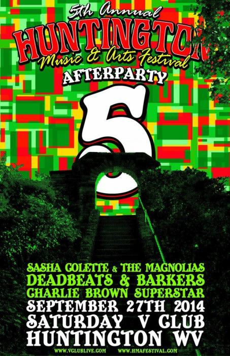 HMAF After Party! W/ Sasha Colette & The Magnolias / Deadbeats & Barkers / DJ CBS
