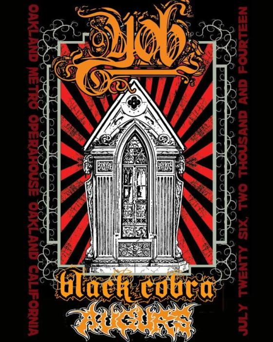 YOB, BLACK COBRA, AUGURS