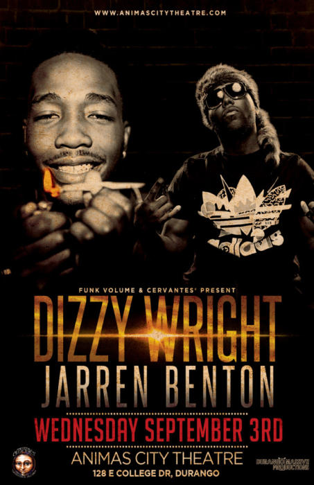 Funk Volume Presents Dizzy Wright & Jarren Benton w/ Special Guests