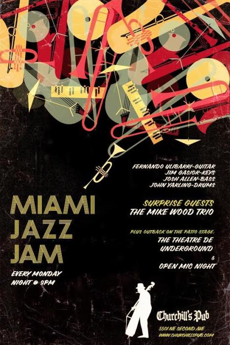 The Miami Jazz Jam & Theare De Underground Open Mic