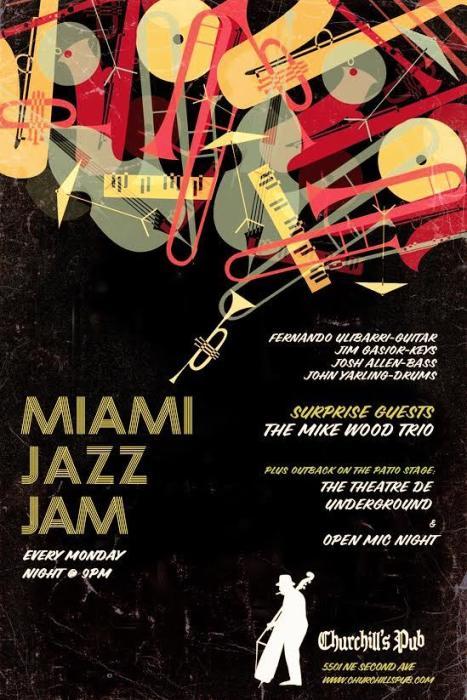 The Miami Jazz Jam & Theare De Underground Open Mic