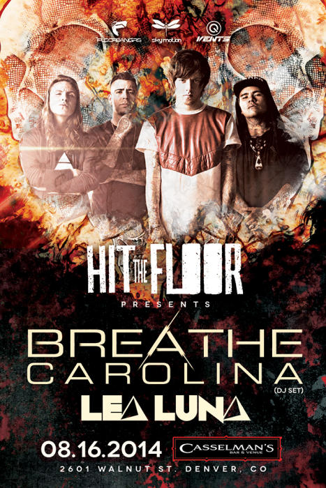 BREATHE CAROLINA & LEA LUNA DJ SET
