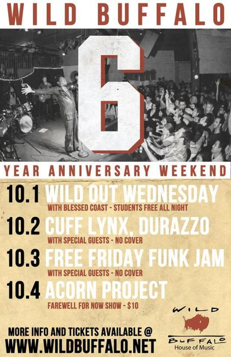 Six Year Anniversary of Free Funk Friday