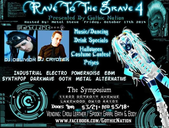 GOTHIC NATION PRESENTS RAVE TO THE GRAVE 4
