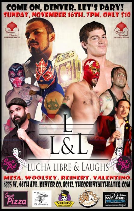 Lucha Libre & Laughs