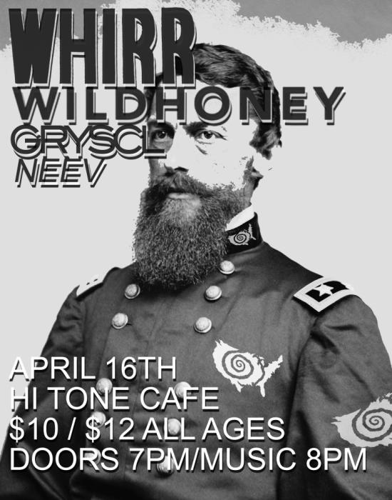 Whirr w/ Wild Honey, Gryscl & Neev (Big Room)