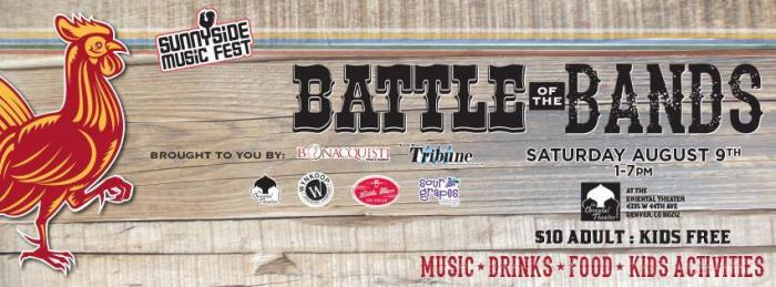 Sunnyside Music Fest - Battle of the Bands