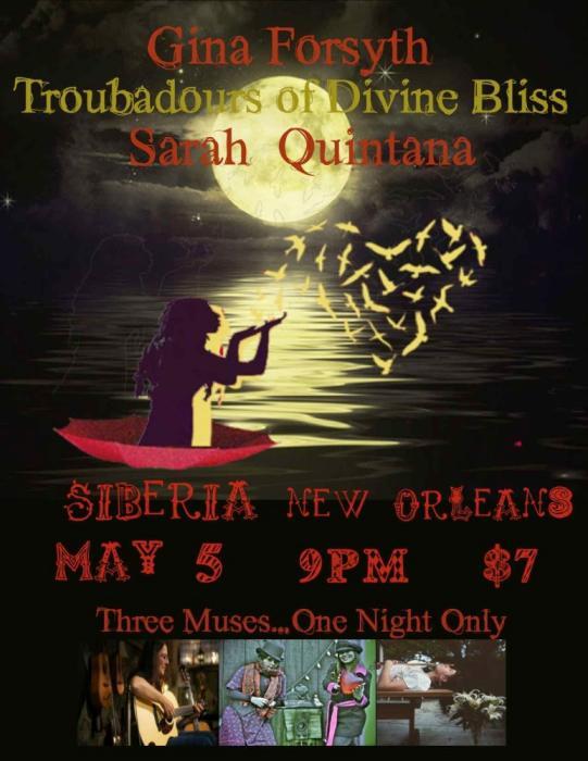 Troubadours of Divine Bliss | Gina Forsyth | Sarah Quintana