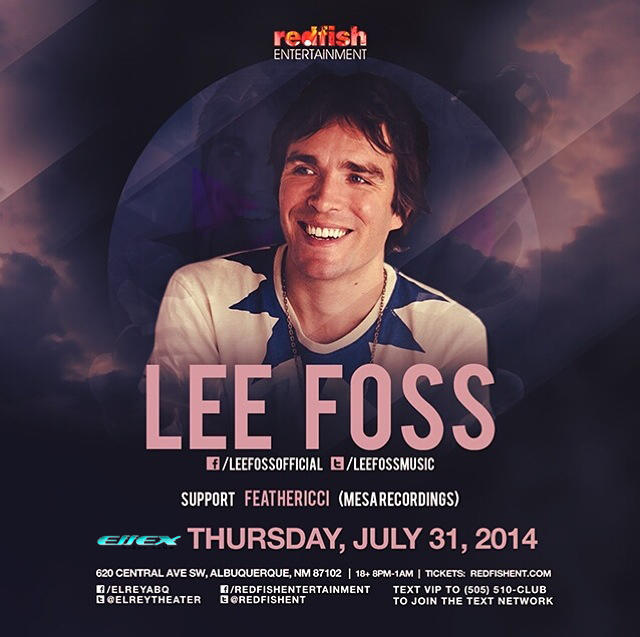 "LEE FOSS ""Into The Deep End"" feat Feathericci"