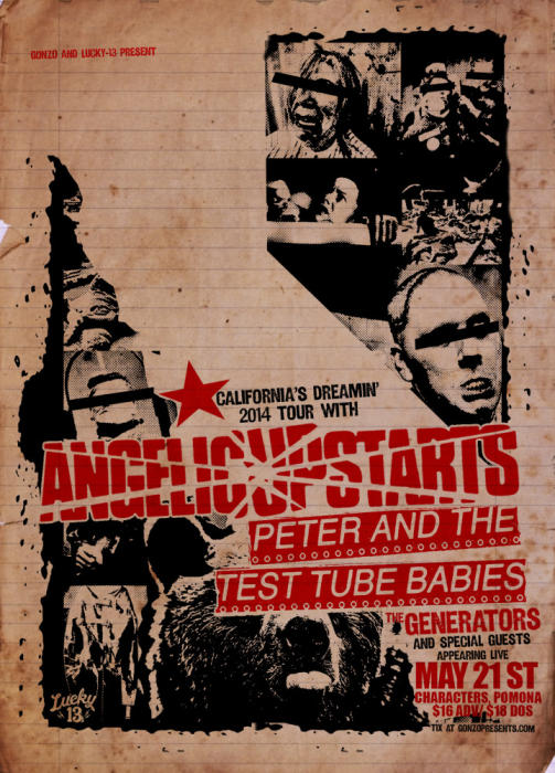 ANGELIC UPSTARTS ,PETER & THE TEST TUBE BABIES