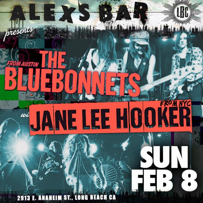 THE BLUEBONNETS, JANE LEE HOOKER