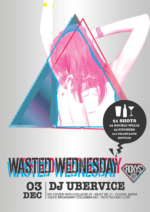Wasted Wednesdays - No Cover - $1, $2, $3 Specials! -