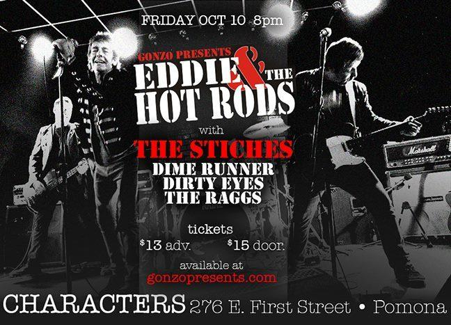 Eddie & The Hot Rods, The STITCHES