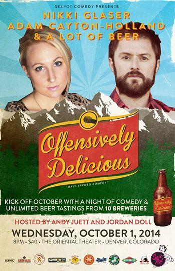 OFFENSIVELY DELICIOUS -BREWFEST & COMEDY SHOW