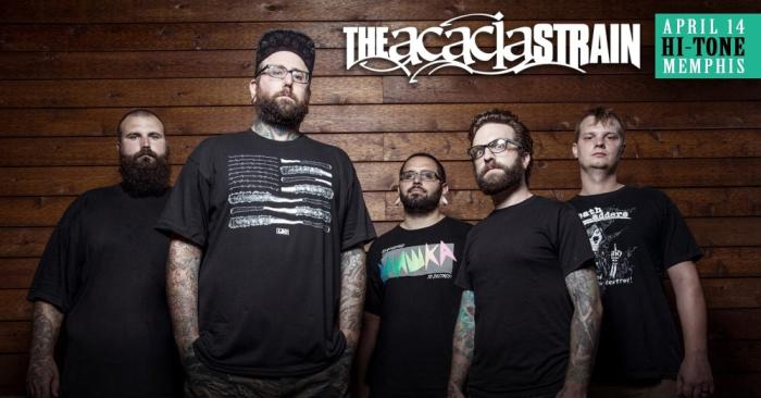 The Acacia Strain w/ Vera, What We Do In Secret & Creux
