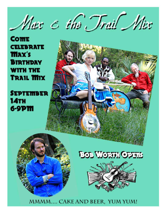 Max & the Trail Mix Birthday Show with Bob Worth!!