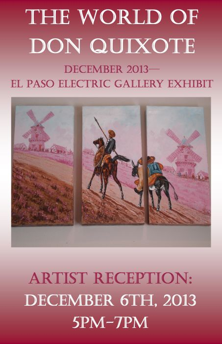 Artists Reception: The World of Don Quixote