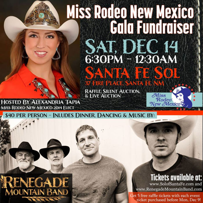 ALEXANDRIA TAPIA MISS RODEO NEW MEXICO GALA